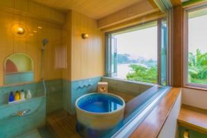 和洋室客室-浴場