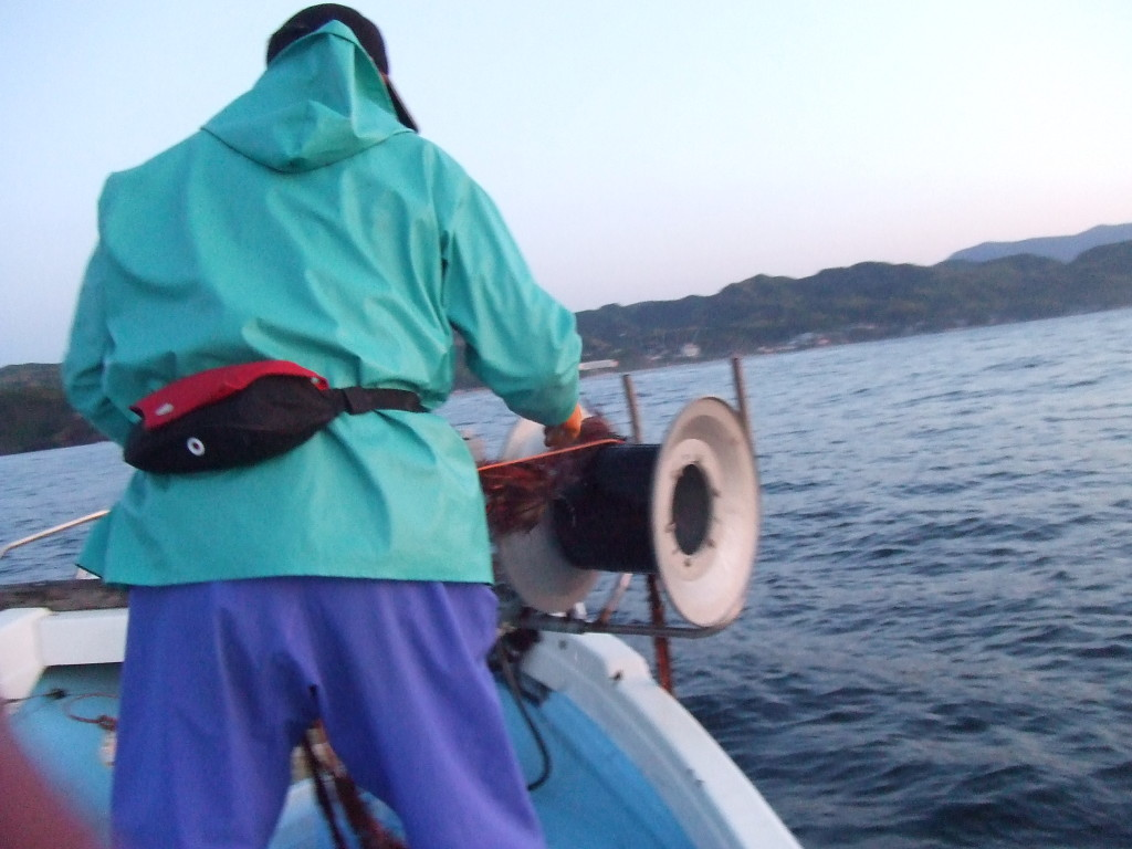 伊勢海老漁