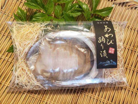 あわびの踊り漬け(3000円、5000円)